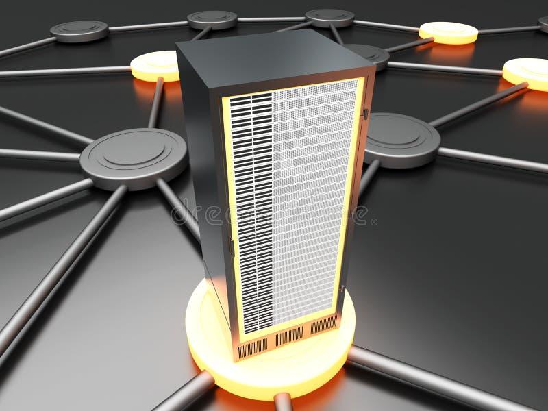 Download Aangesloten Server Stock Foto - Afbeelding: 24076050