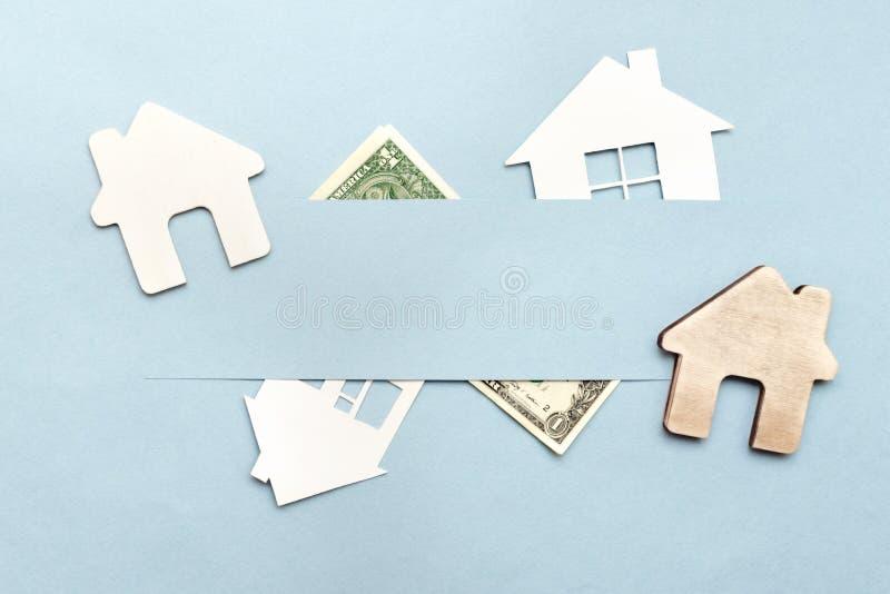 Aankoop of verkoop van het huis, flat royalty-vrije stock foto