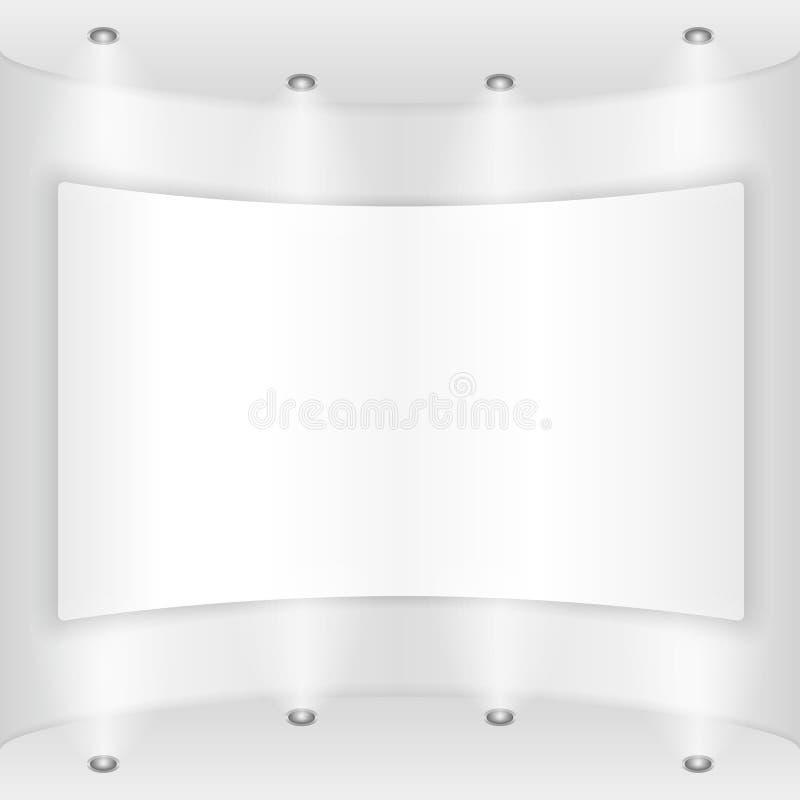Aanplakbiljet vector illustratie