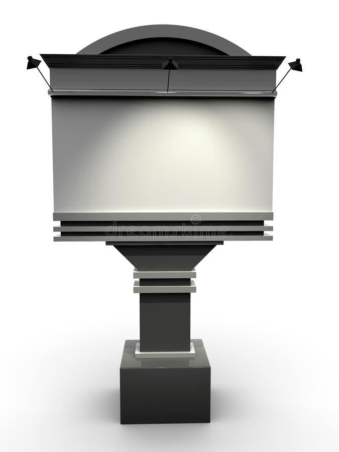 Aanplakbord stock illustratie