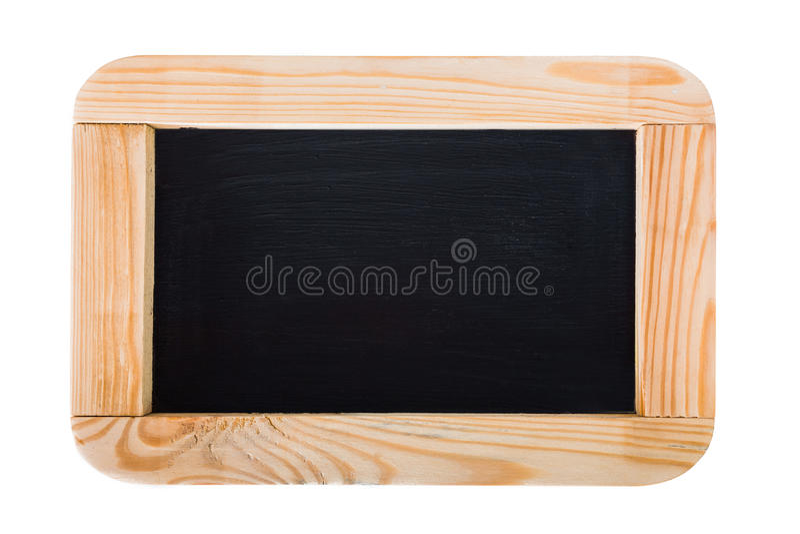 Aanplakbord zwart houten kader stock foto's