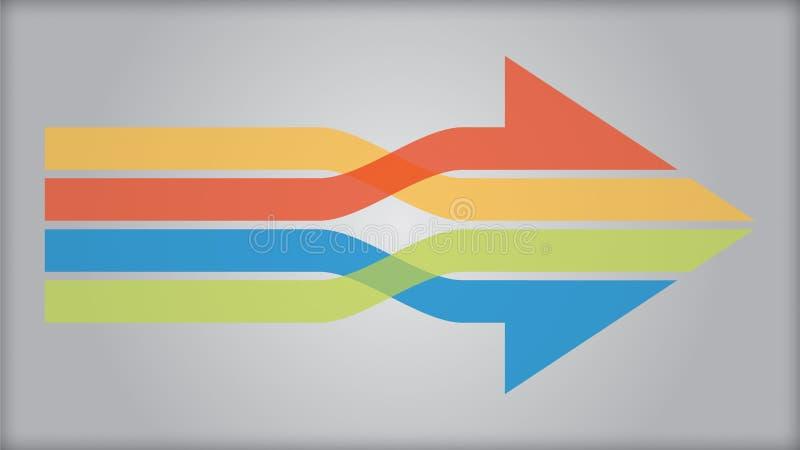 aansluting Digitaal Netwerkverbindingen stock illustratie