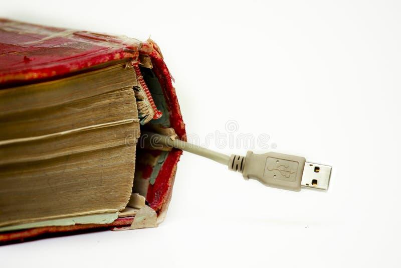 Aansluting USB stock fotografie