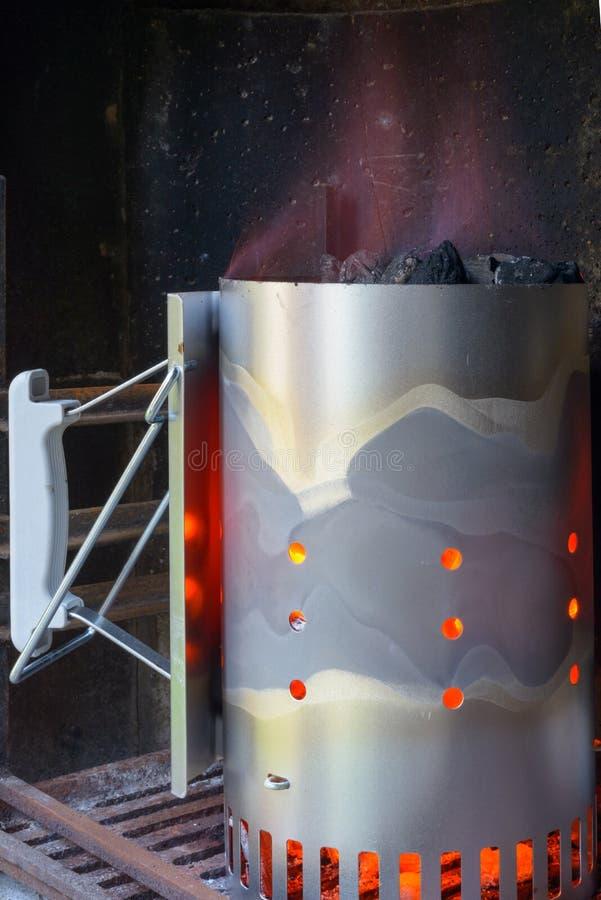 Aansteker voor barbecue stock foto's