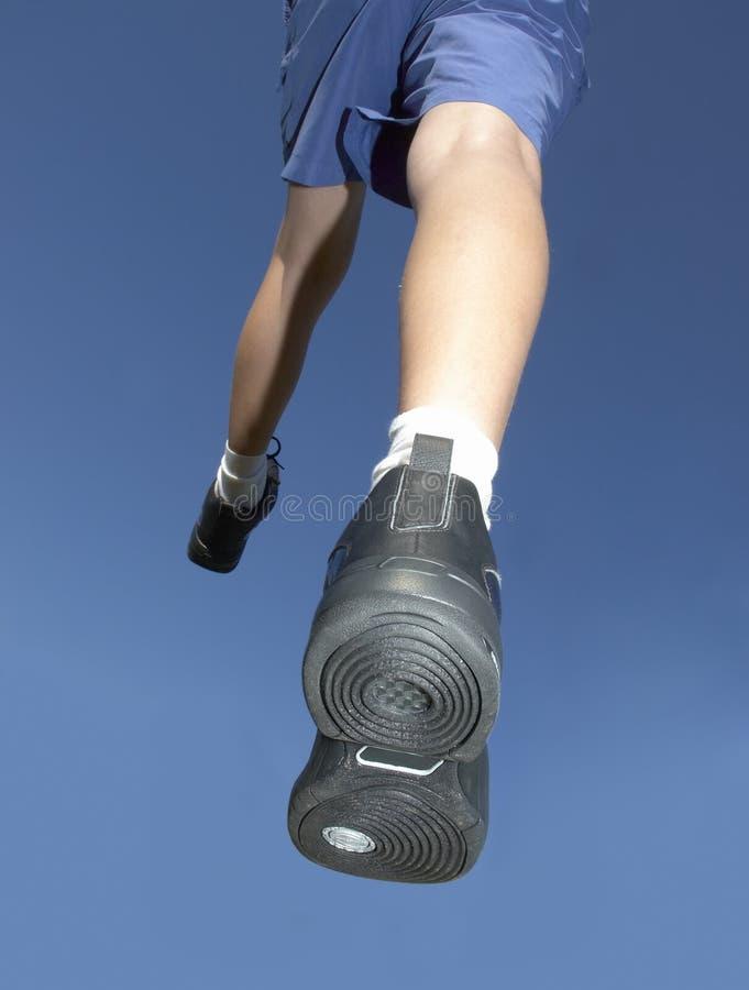 Aanstotende schoenen royalty-vrije stock foto's