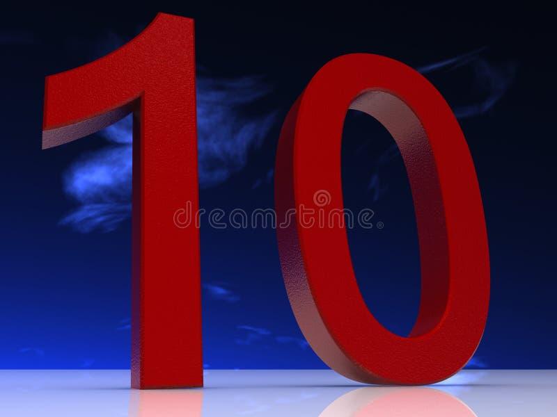 Aantal stock illustratie