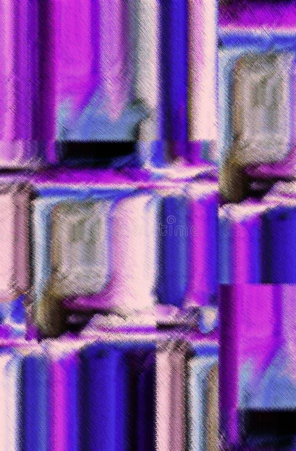 Aantrekkelijk abstractie en ontwerp Grafisch kunsten en art. stock illustratie