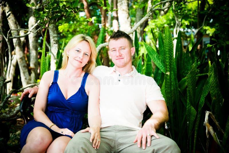 Aantrekkelijk Jong Paar royalty-vrije stock foto