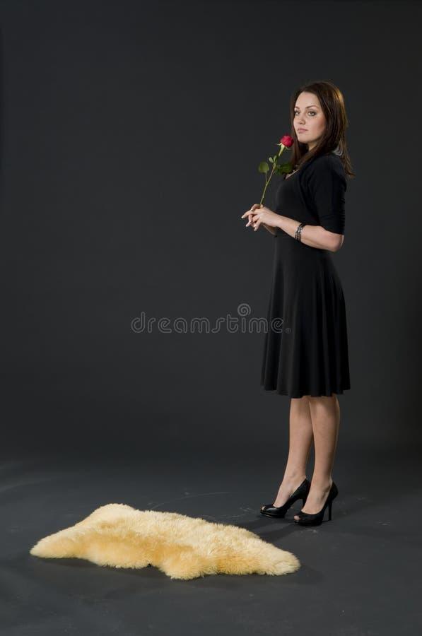 Aantrekkelijk meisjesportret royalty-vrije stock foto's