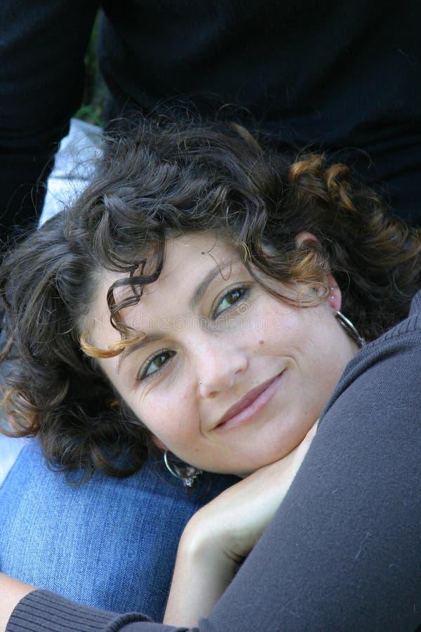 Aantrekkelijk Tunesisch meisje stock foto