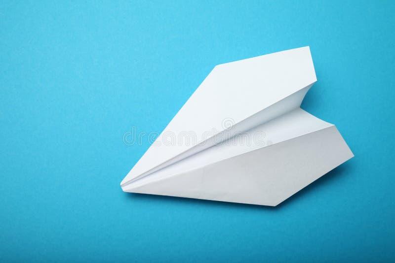 Aantrekkelijke achtergrond in de luchtvaart, helder papieren vlak royalty-vrije stock afbeelding