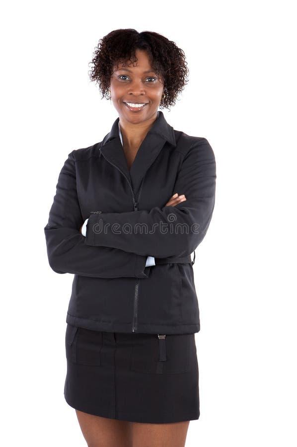 Aantrekkelijke bedrijfsvrouw stock fotografie