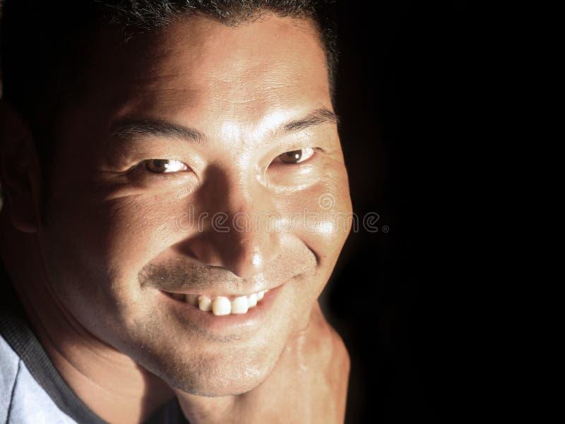 Aantrekkelijke Glimlachende Mens royalty-vrije stock foto