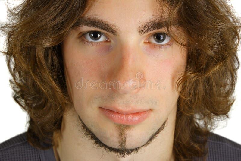 Aantrekkelijke jonge mens stock afbeelding