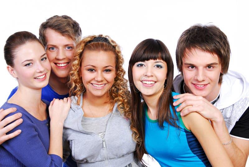 Aantrekkelijke jonge mensen royalty-vrije stock afbeeldingen