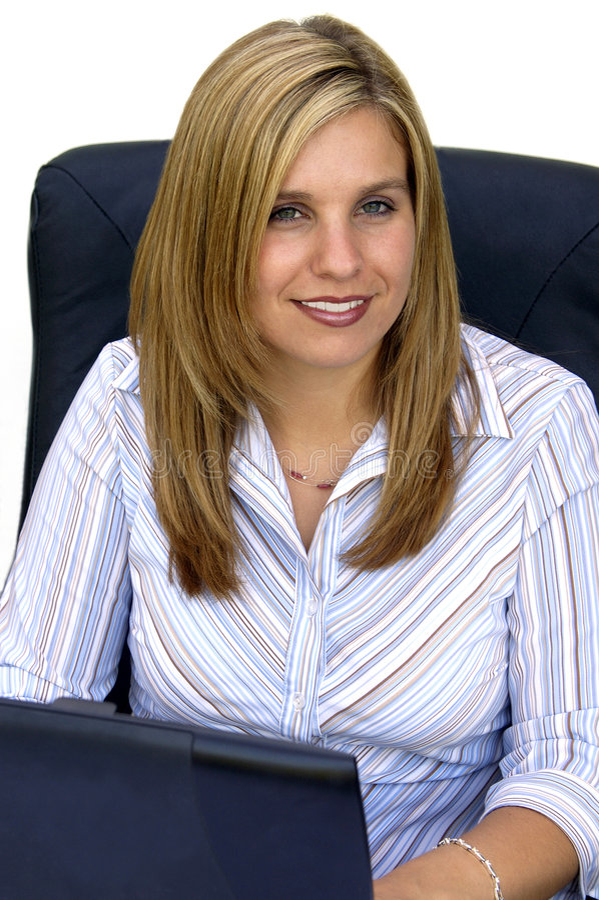 Aantrekkelijke Jonge Professionele Vrouw royalty-vrije stock foto