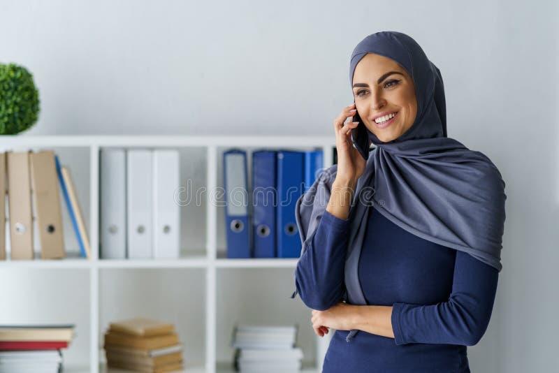 Aantrekkelijke Moslimvrouw stock foto's