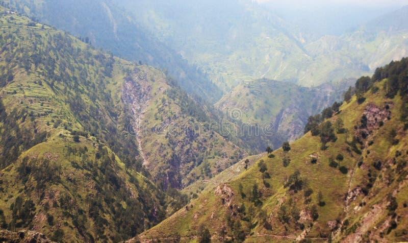 Aantrekkelijke Siërra dichtbij Balakot, Pakistan stock foto