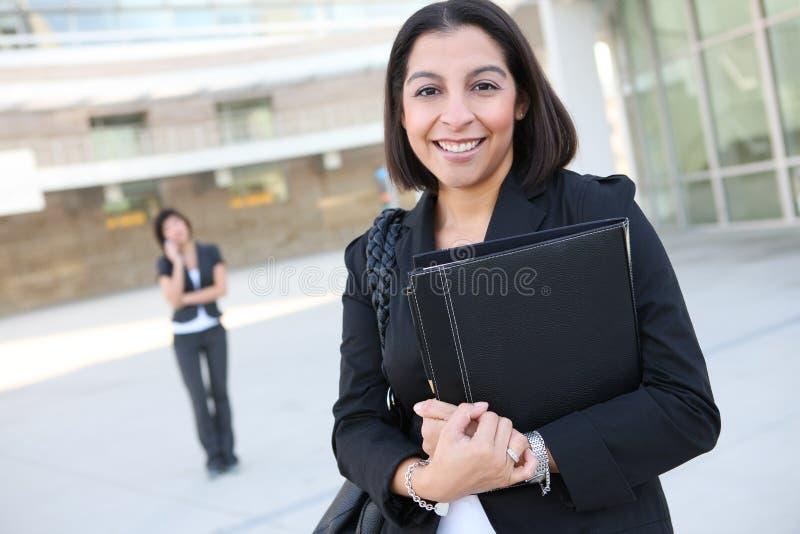 Aantrekkelijke Spaanse BedrijfsVrouw royalty-vrije stock foto's