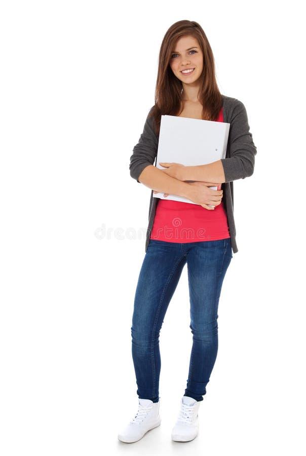 Aantrekkelijke student stock fotografie