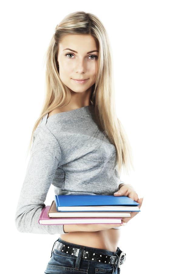 Aantrekkelijke student stock foto's
