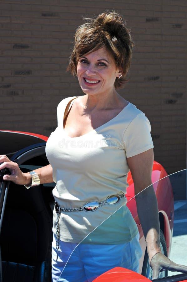 Aantrekkelijke Vrouw stock foto
