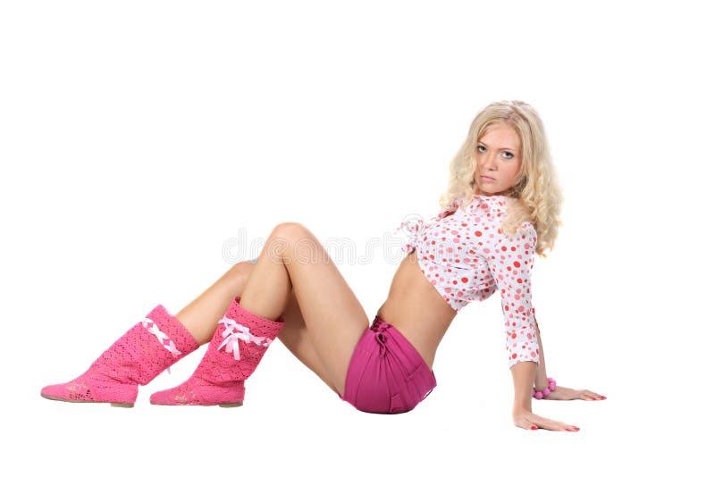 Aantrekkelijke vrouw stock foto's