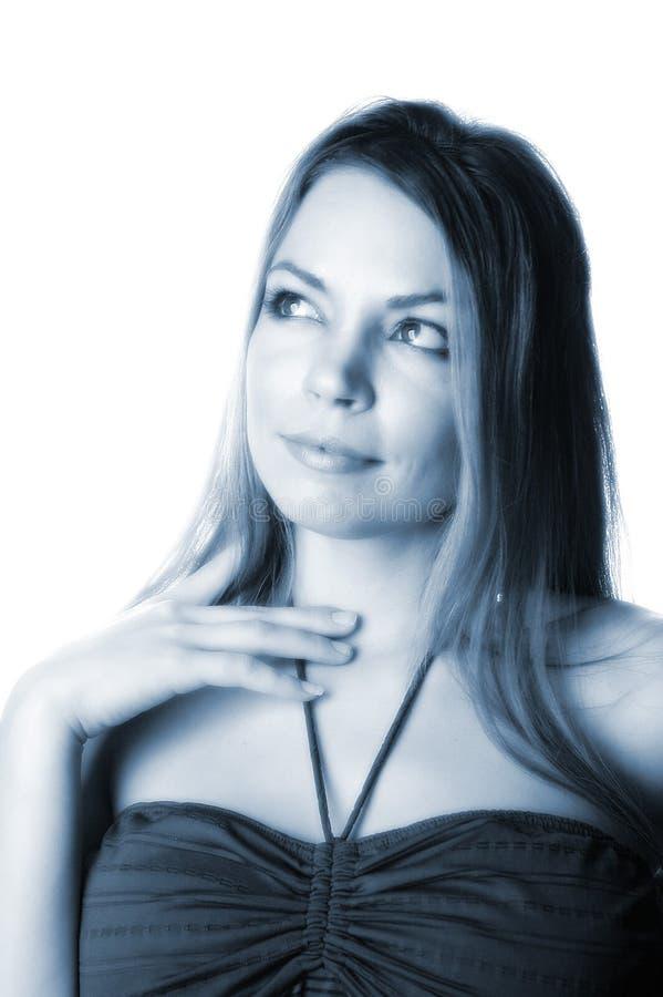 Aantrekkelijke Vrouw-20 Royalty-vrije Stock Afbeeldingen
