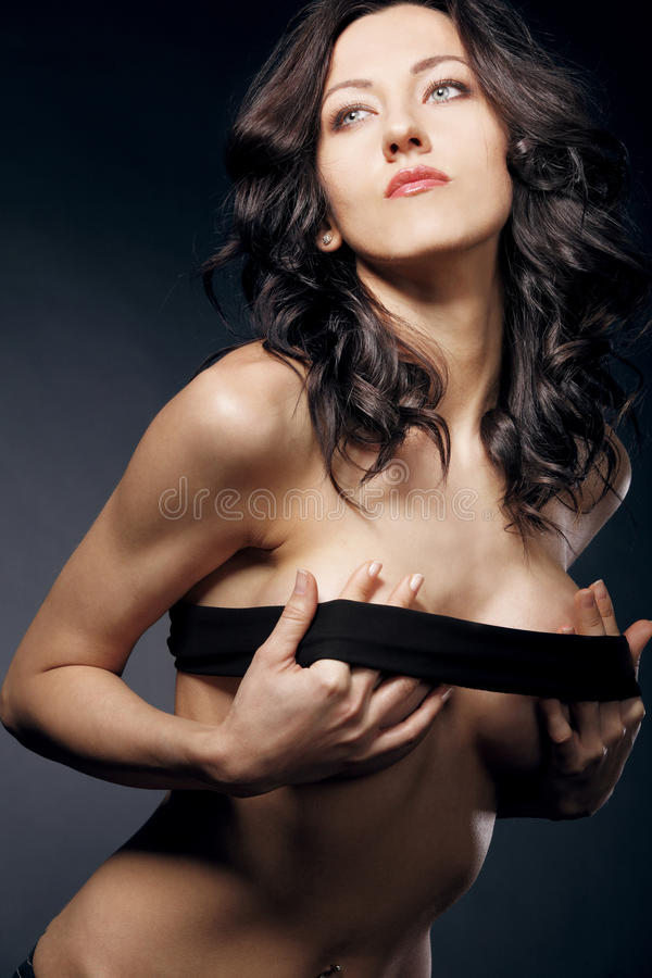 lang haar massage borst