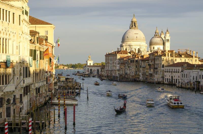 Aantrekkelijkheden van Venetië stock foto