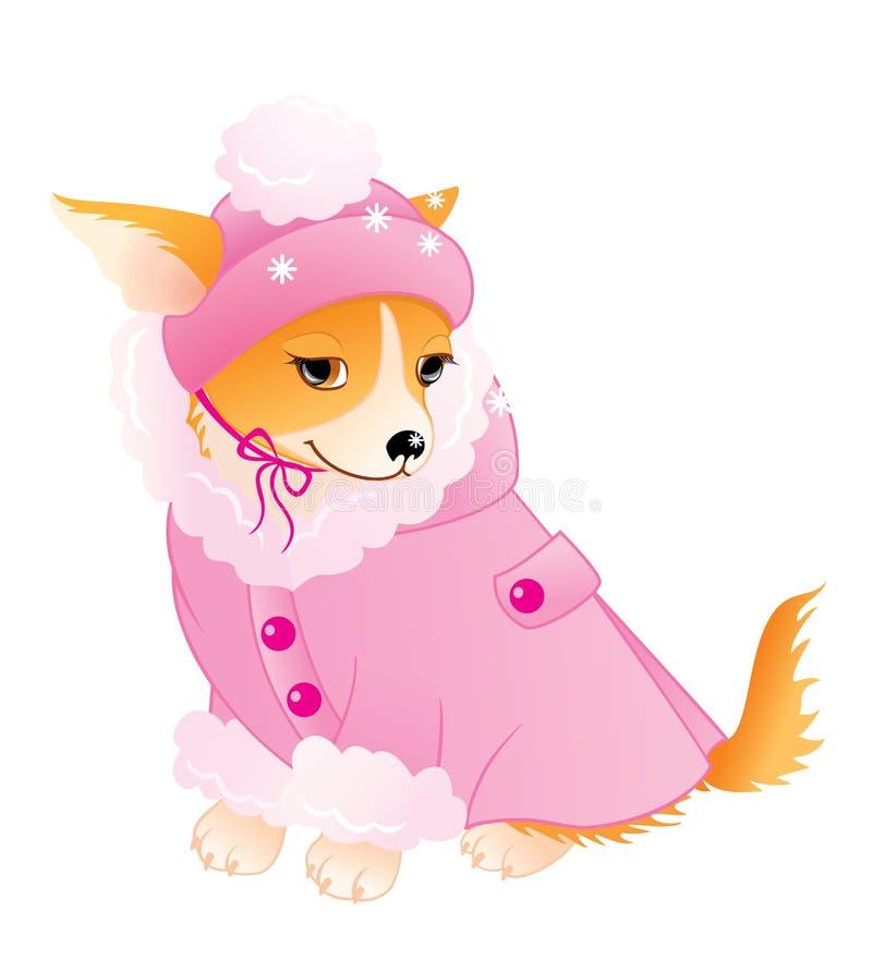 Aantrekkingskracht Chihuahua royalty-vrije illustratie