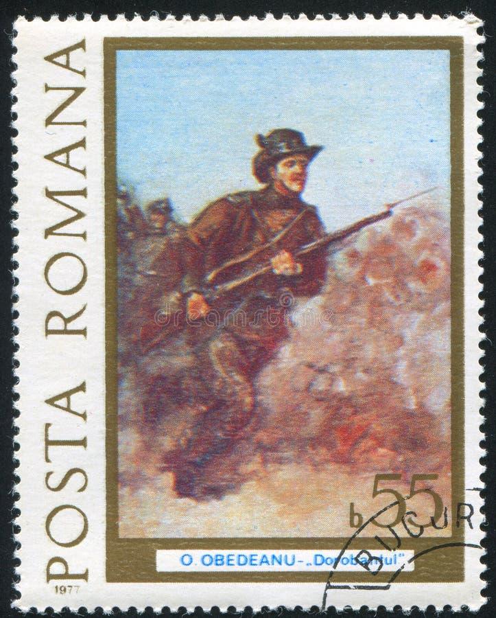 Aanvallende Infanterist stock foto