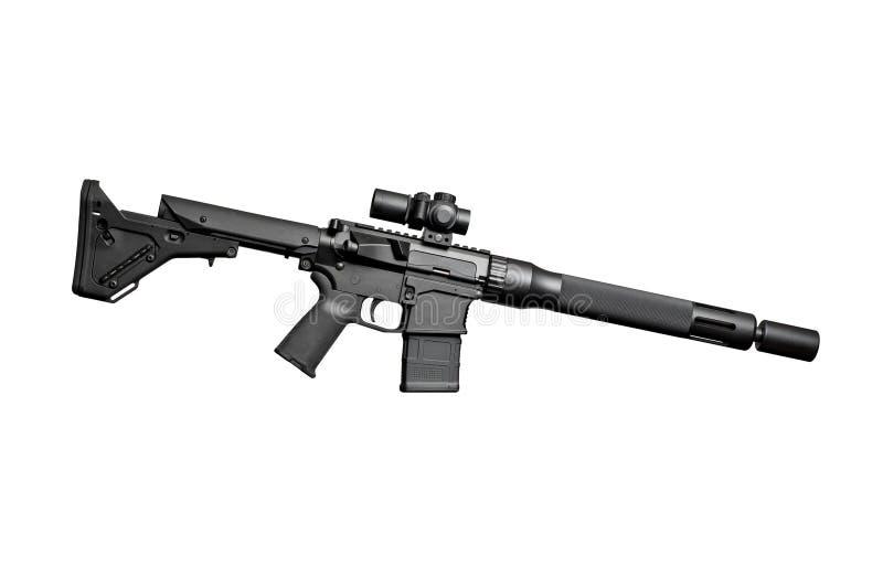 Aanvals halfautomatisch geweer royalty-vrije stock afbeeldingen
