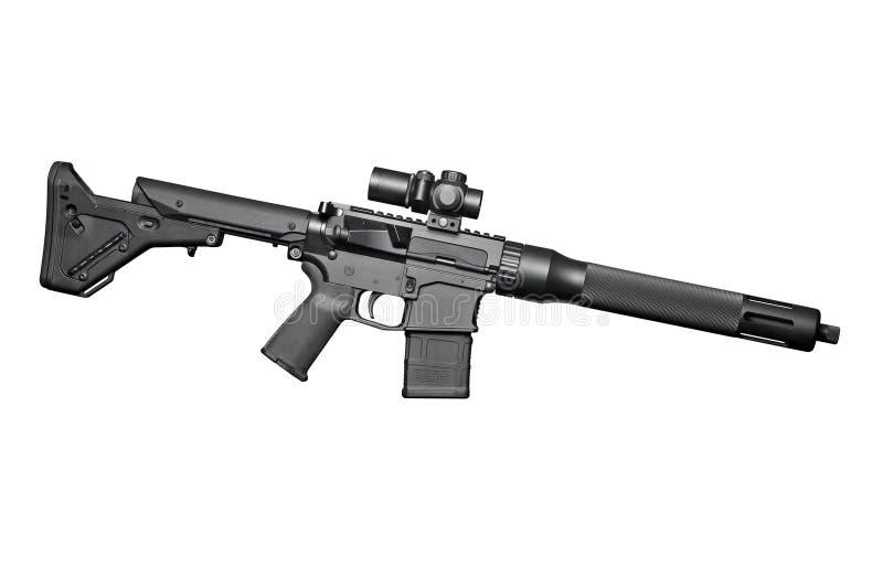 Aanvals halfautomatisch geweer royalty-vrije stock foto's