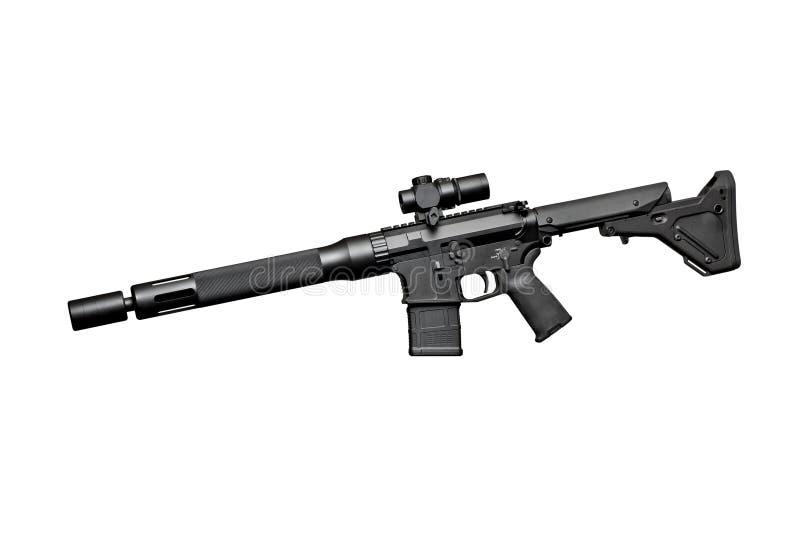 Aanvals halfautomatisch geweer stock fotografie