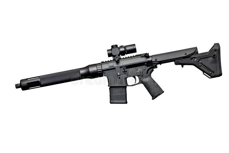 Aanvals halfautomatisch geweer royalty-vrije stock foto