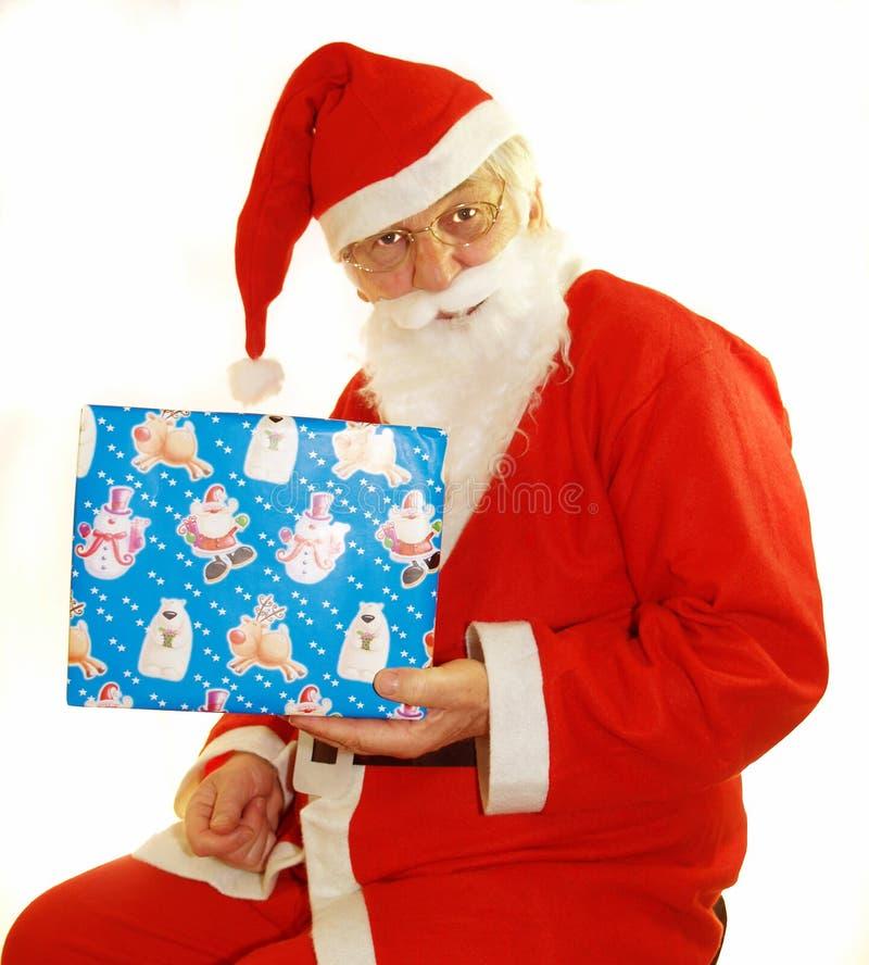 Aanwezige Santas royalty-vrije stock afbeelding