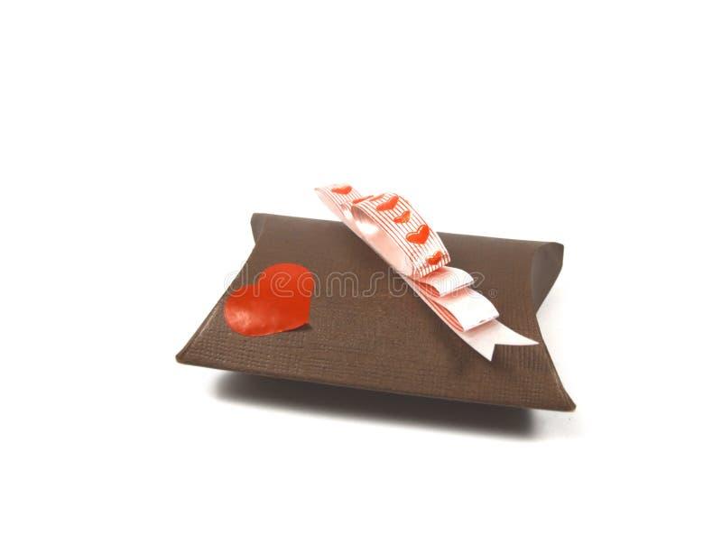 Aanwezige valentijnskaart royalty-vrije stock fotografie