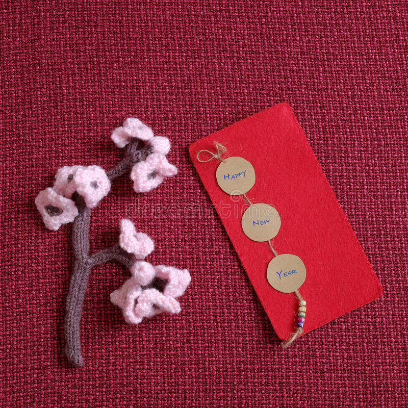 Aap, gelukkig nieuw jaar, Vietnam Tet stock afbeelding