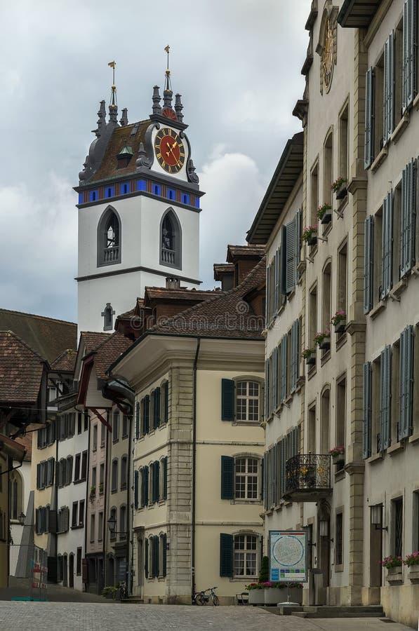 Aarau, Suiza foto de archivo libre de regalías