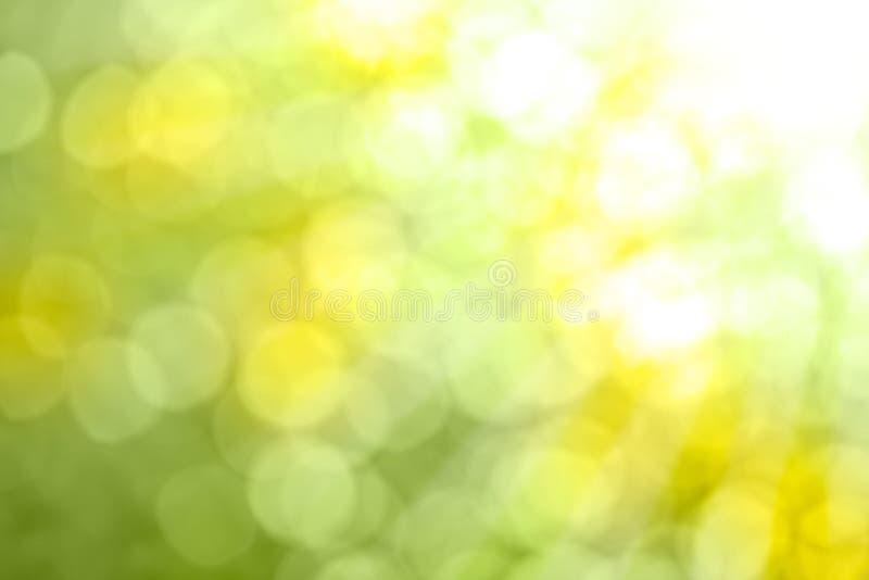 Aard Bokeh - Abstracte achtergrond stock afbeeldingen