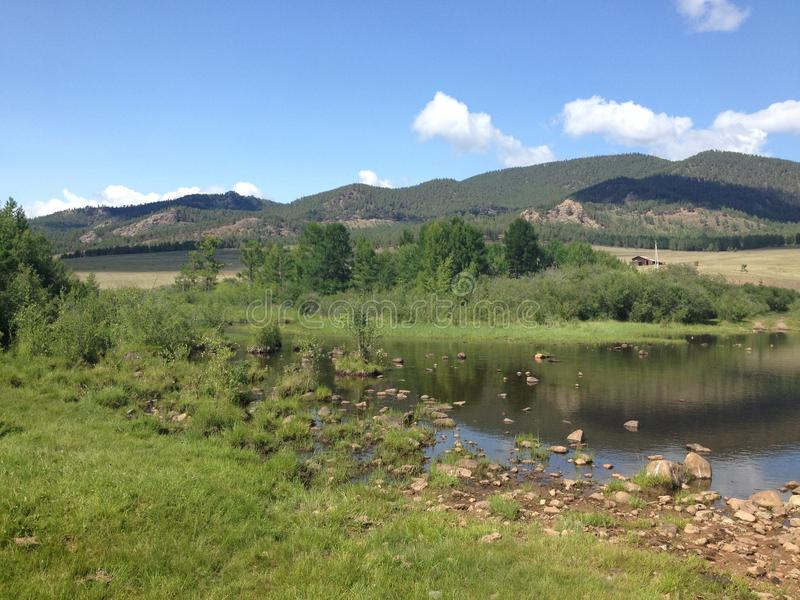 Aard in Buryatia stock fotografie