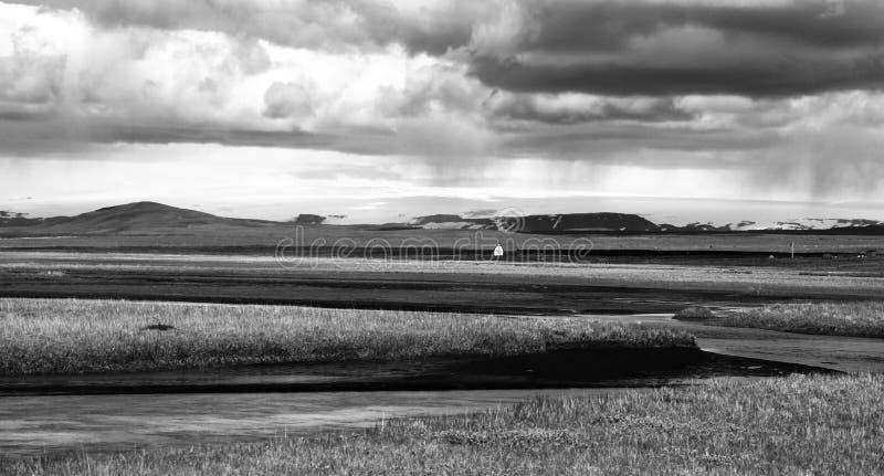 Aard dichtbij Hvitarnes-hut, IJsland royalty-vrije stock fotografie
