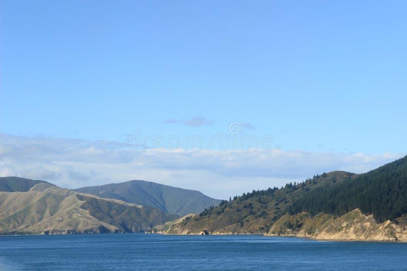 Aard in Nieuw Zeeland, kokstraat royalty-vrije stock foto