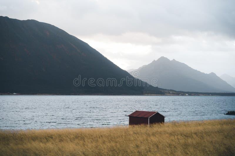 Aard in Noord-Noorwegen stock afbeelding