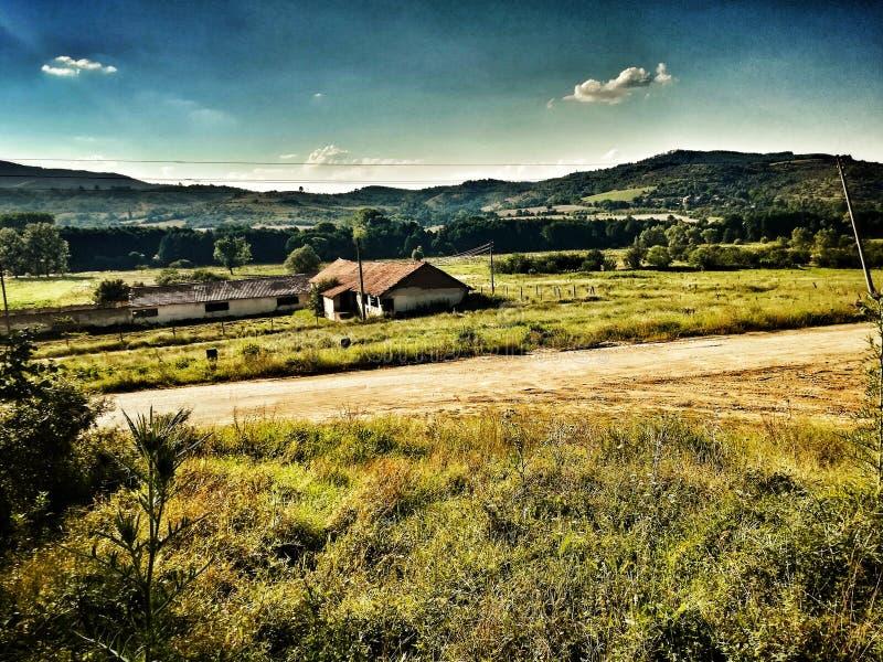 Aard, Vaksevo, Bulgarije, berg royalty-vrije stock afbeeldingen