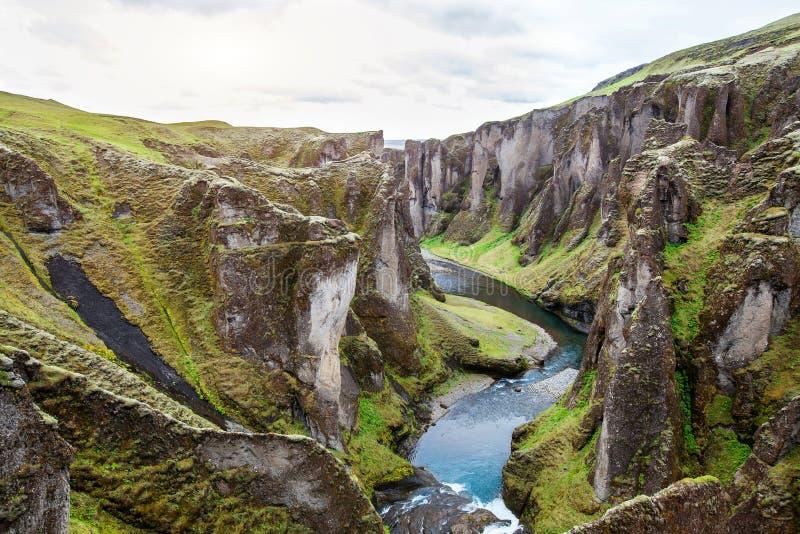 aard van IJsland, mooi landschap royalty-vrije stock fotografie