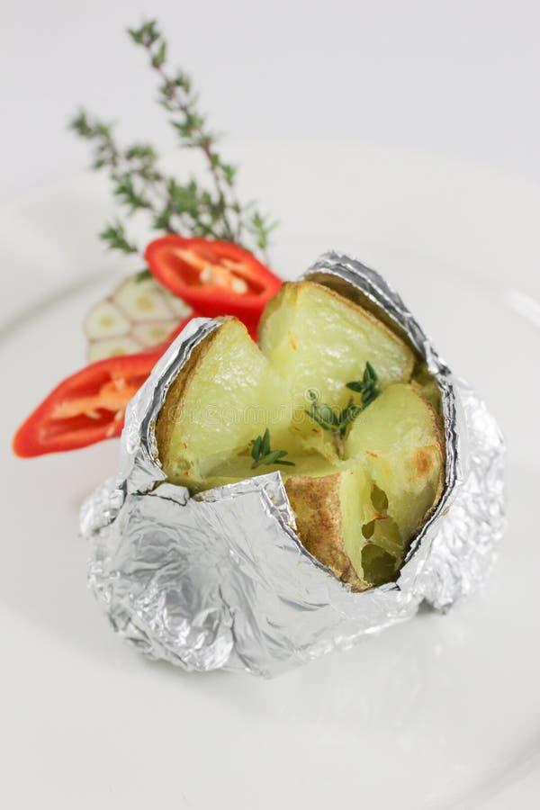 Aardappel in de schil 1 royalty-vrije stock foto