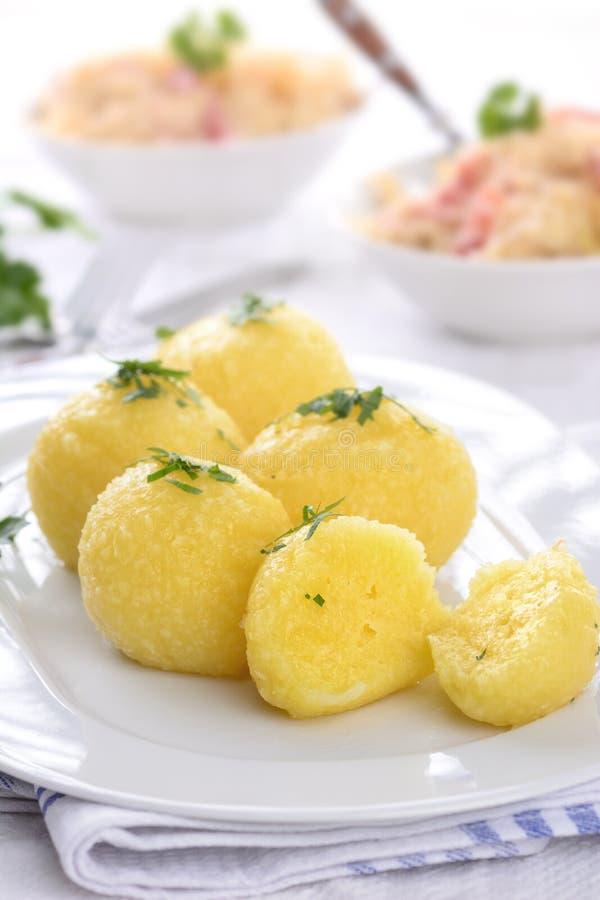 Aardappelbollen royalty-vrije stock afbeelding