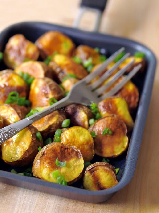 Aardappelen in de schil royalty-vrije stock afbeelding